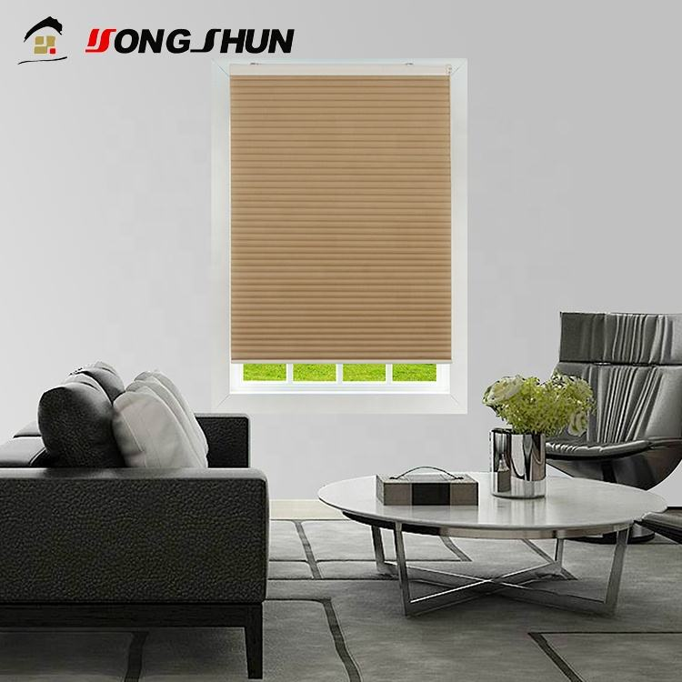 Cafe [ Fabric ] New Style O Shape Cellular Roller Honeycomb Blind Cheap Curtain Fabric