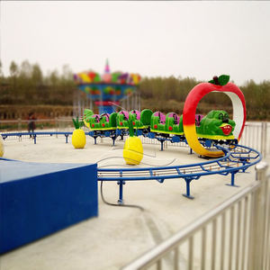 Backyard small apply worm roller coaster equipment for sale
