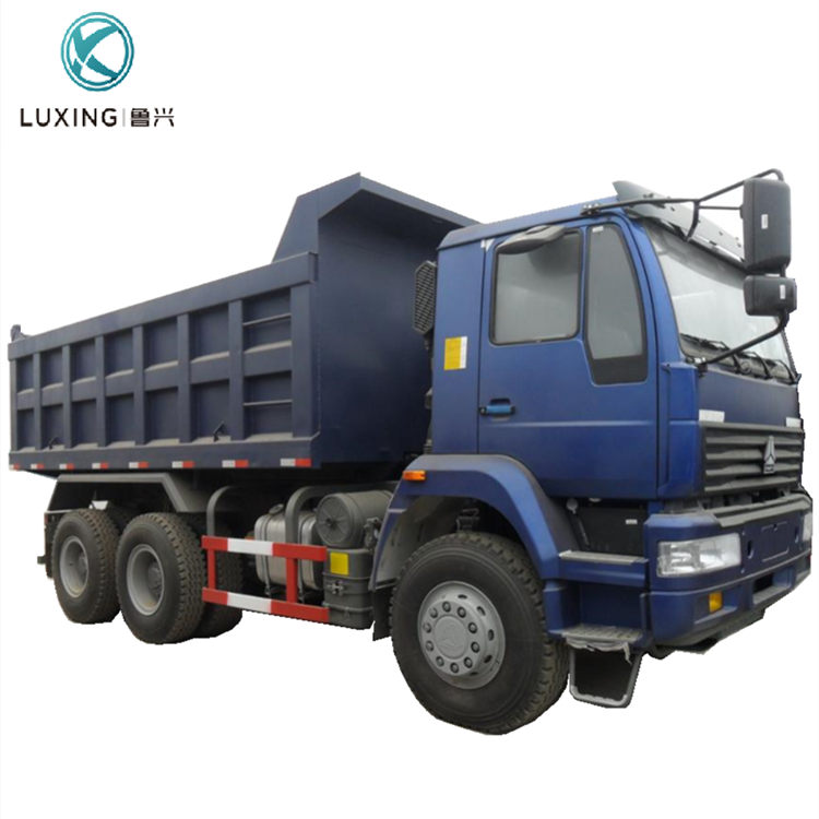 Customer's Request Color 40 Ton 6x4 Load Volume Used Dump Truck For Sale Made In China