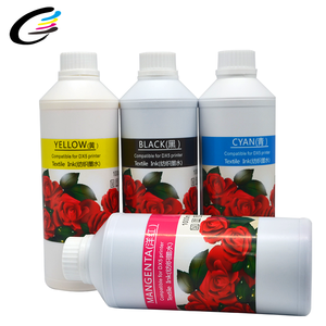 Cotton Digital Printing DTG Textile Ink CMYK 4 Color For Epson Head