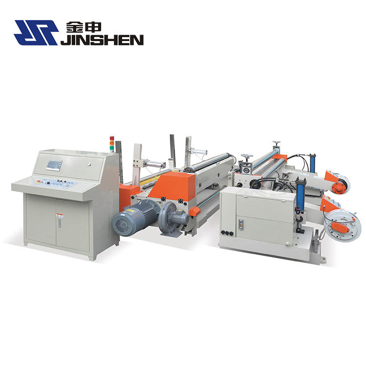 Automatic Paper Roll Slitter Rewinder Machine Paper slitting rewinding machine price JS-SR1600