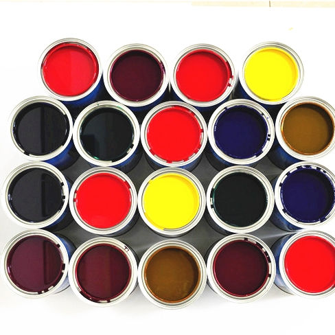 Hot Selling Extra Slow Drying Car Coating Thinner Car Refinish Base Coat Paint Auto Refinish Clear Coat