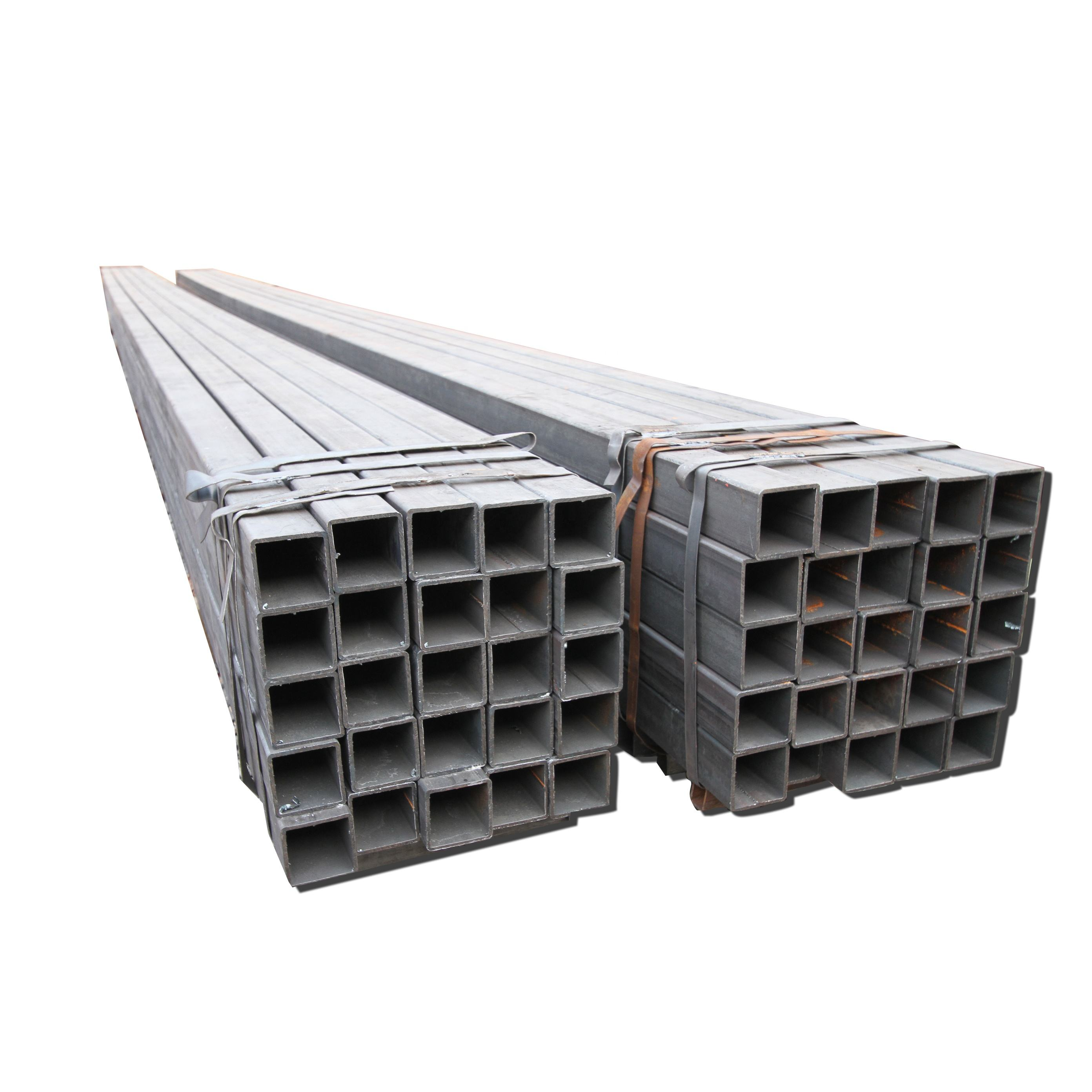 New Condition And Energy Supply Black Iron 15mm Square Steel Tube Carbon ERW Welding Black Square Pipe