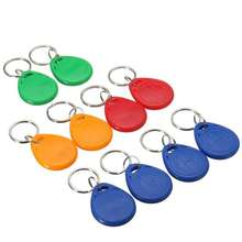Different Shaped Keyfob Customizable Your Size EM4200 LF RFID Keyfob