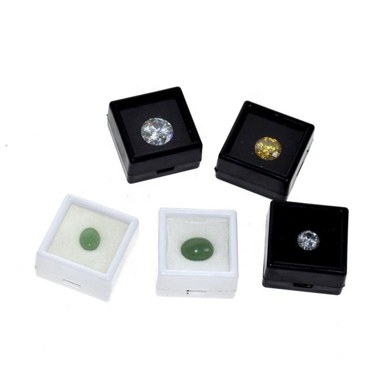 Wholesale Acrylic Gem Boxes Certified Cheap Natural Loose Diamond Jewely Boxes
