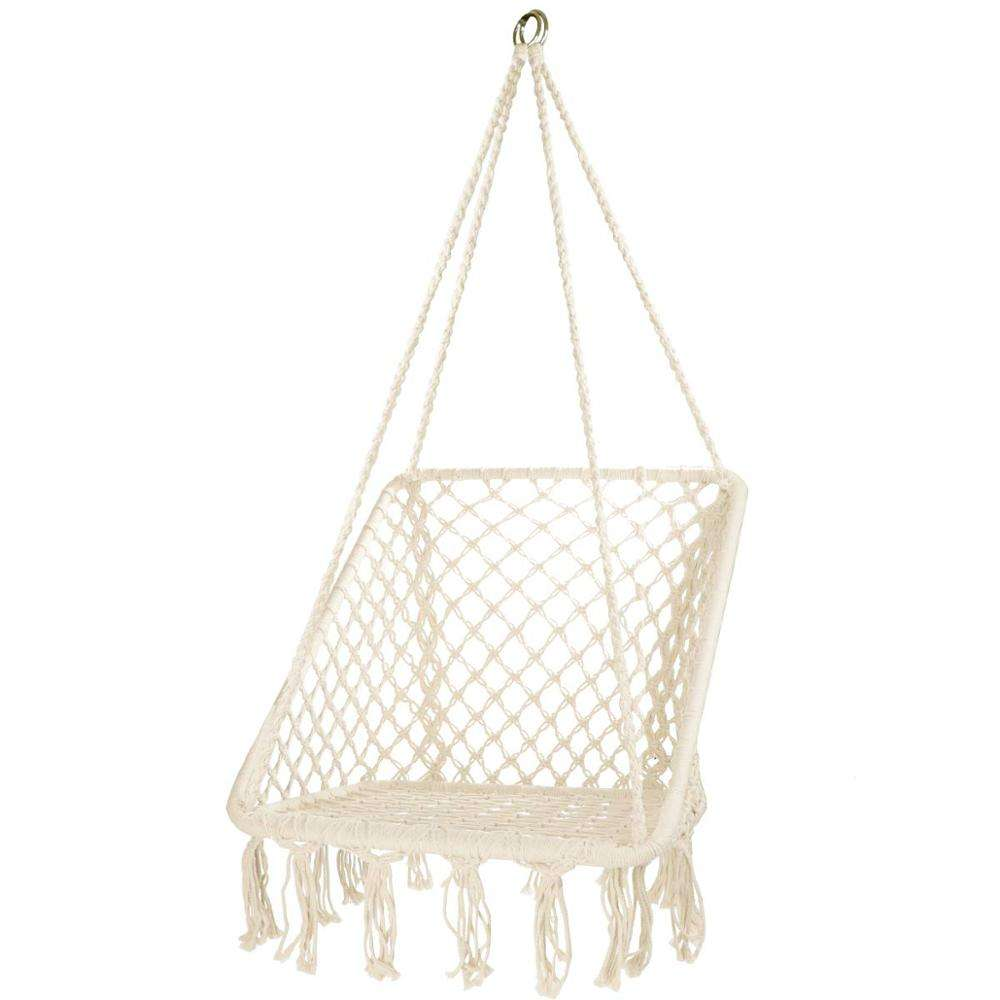 NEW Square Macrame Hanging Hammock Chair