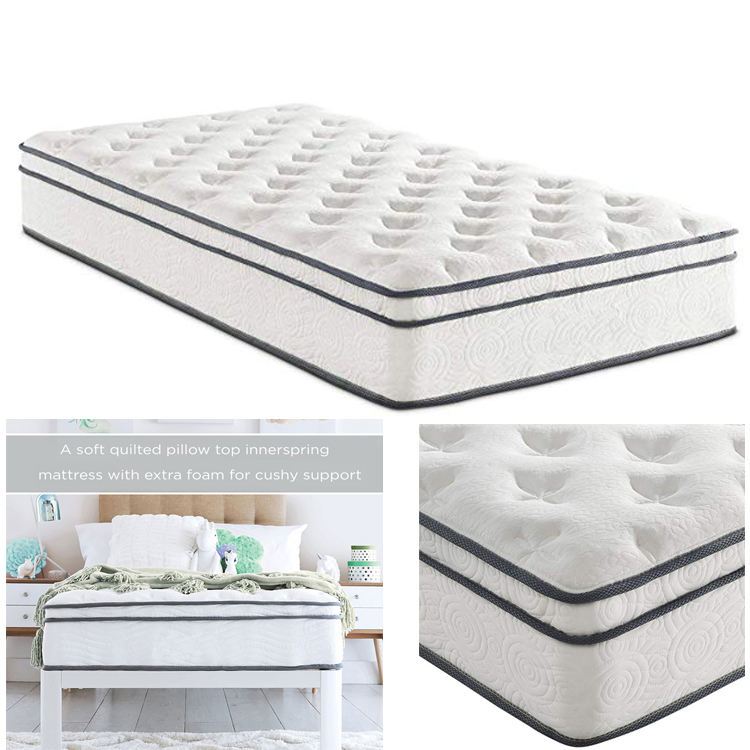 Hypo-allergenic [ Compresse Mattress ] Hybrid Innerspring 14inch Height Luxury 5 Star Hotel Compresse Packing Spring Mattress