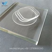 pyrex glass borosilicate glass sheet/plate/disc