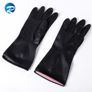 Лидер продаж guantes de nitrilo черный электрические строительство латекс защитные перчатки