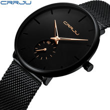 2020 hot CRRJU 2150 Top Brand Luxury Watches Men Stainless Steel  Watches Men Classic Quartz Men's Wrist Watch Relogio Masculino
