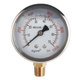 Manometer Liquid Filled Pressure Gauge Stainless Steel car tire air with brass oil filled pressure gauge for water treatment