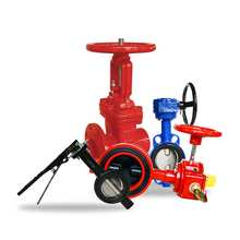 300PSI OS&Y Type Ductile Iron Grooved*Groove Gate Valve resilient seated 2.5inch to 12inch