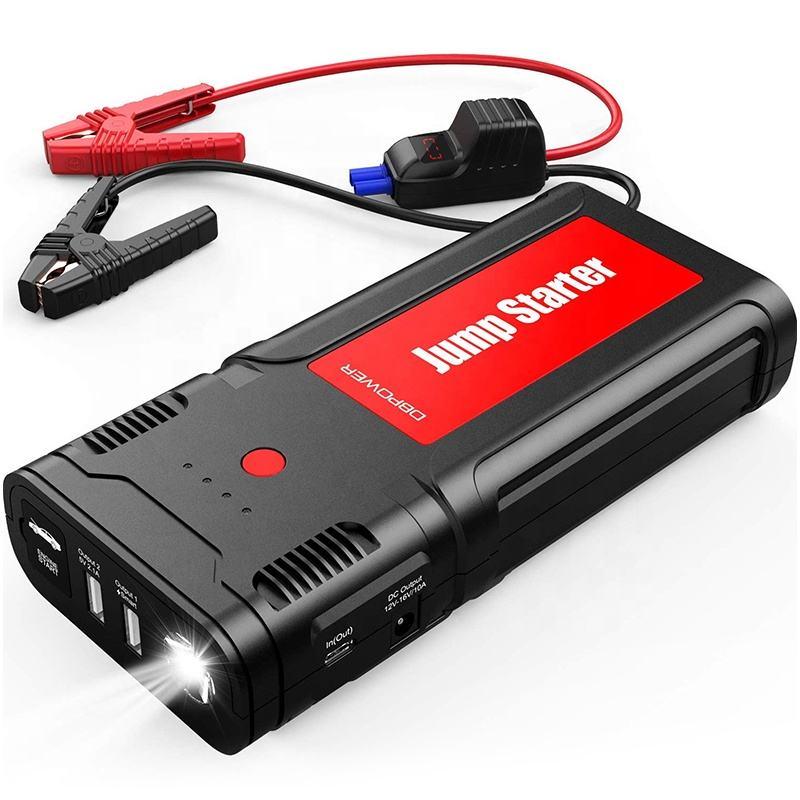 DBPOWER 2500A 21800Mah <span class=keywords><strong>Snap</strong></span> Sur Le Démarreur de Saut de Voiture De Secours de Batterie
