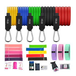 Yoga Oefening Apparatuur Fitness Weerstand Lange Band 11 Stks/set Rubber Pull Up Bands