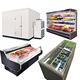 Supermarket refrigerator equipment; cold storage room; commercial refrigerator for fruits and vegetables ;meat freezer showcase