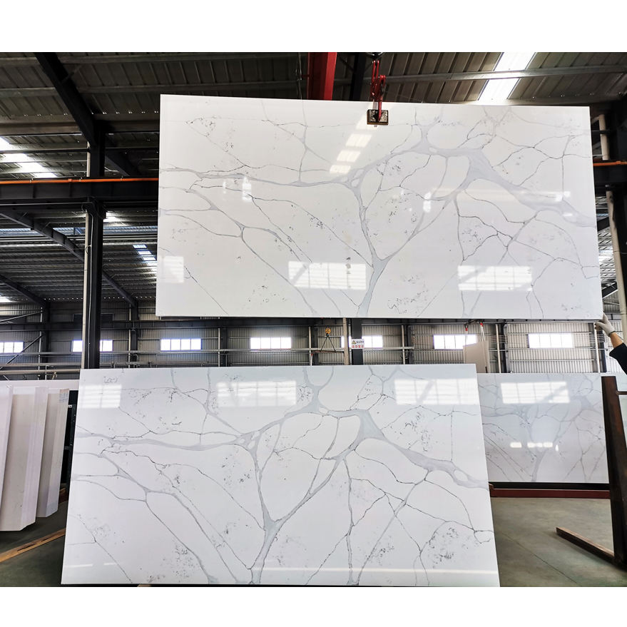 SH8320 Artificial Stone Type and Big Slab Stone Form Artificial marble Price,Marble Quartz Types
