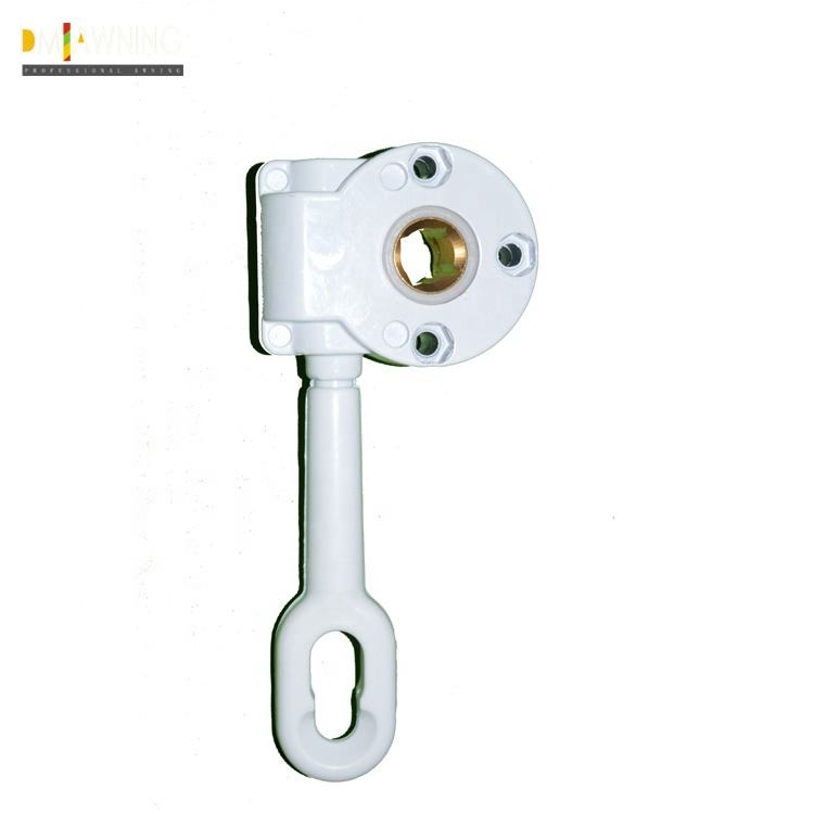 Hot Sale Awning Gear Box With Screw Aluminium Awning Accessories Gear Box
