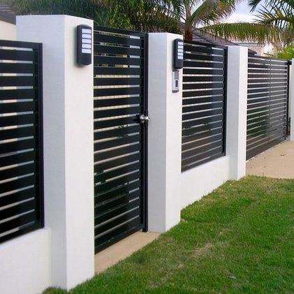 Jiahe Modern Ornaments Steel Fence Design Stainless Steel Fence Steel Fencing In Philippines