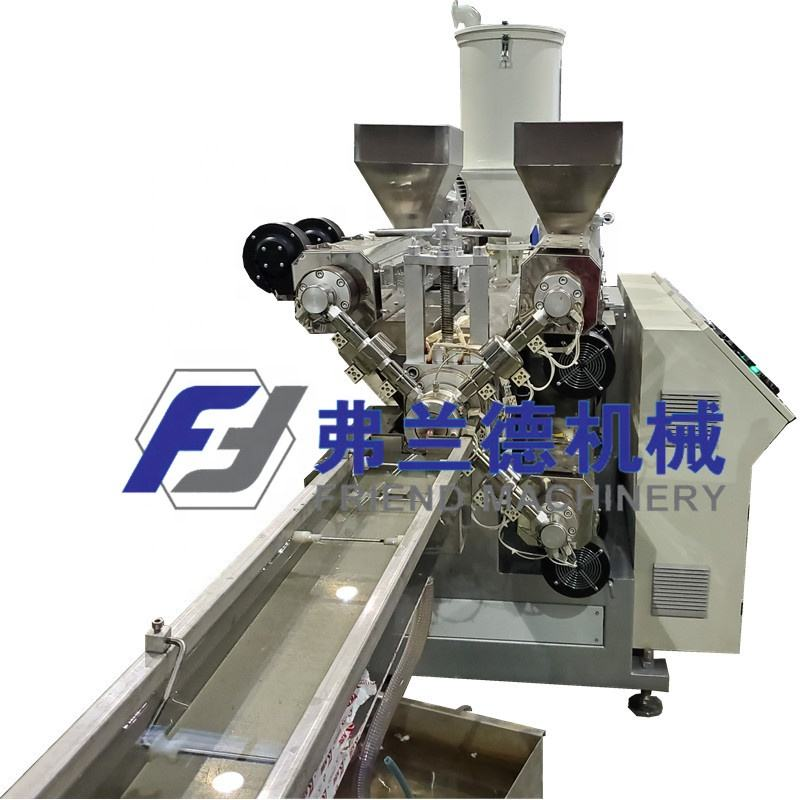 PP PE Rattan Making Machine For Furniture/Plastic Wicker Extrusion Line