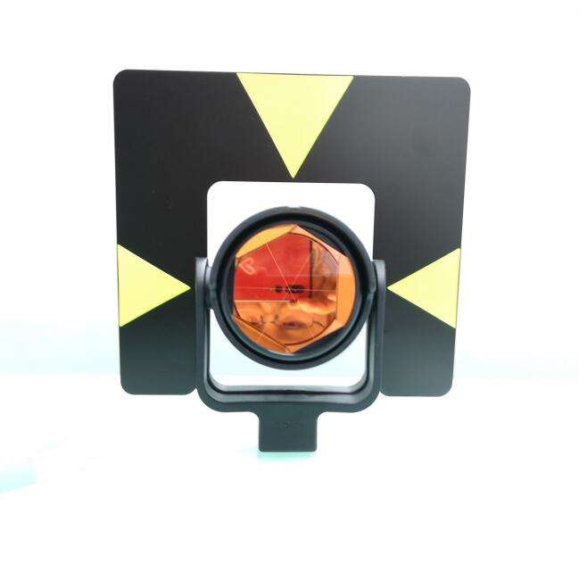 Optical total station glass prism for station total