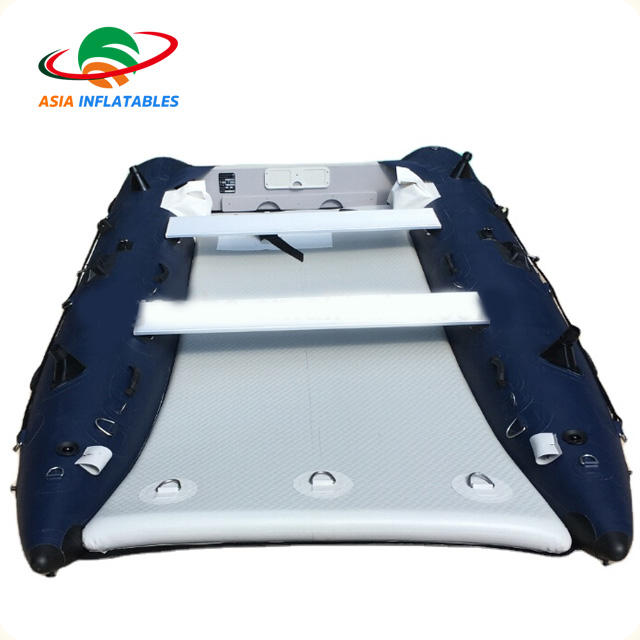 High Speed Thunder Cat Boat Inflatable Cat Pontoon Boat