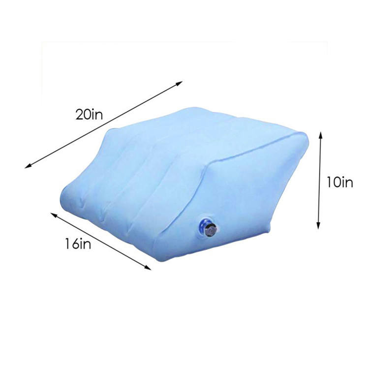 Footrest Pillow Inflatable Portable Travel Foot Rest Foot Pad Leg Pillow Cushion Kids Sleeping Footrest for home