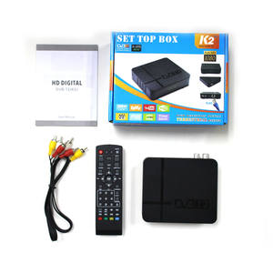 2020 más Popular H.265 Streaming Media Player DVB T2 WiFi Full HD TLC Mini TV Box