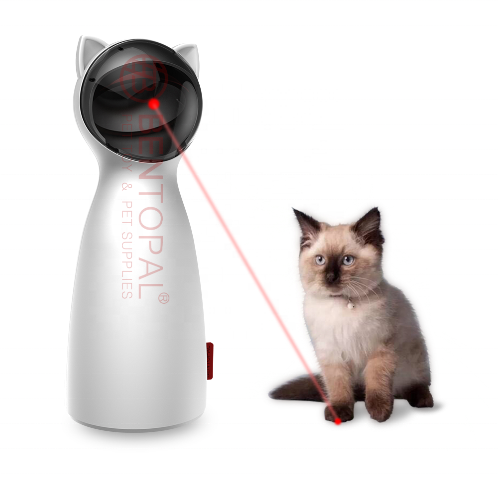 Safe Automatic Light Chaser Interactive Laser Cat Toy With Laser Pointer For Pets Exercise Training Toy Pet Products 2019