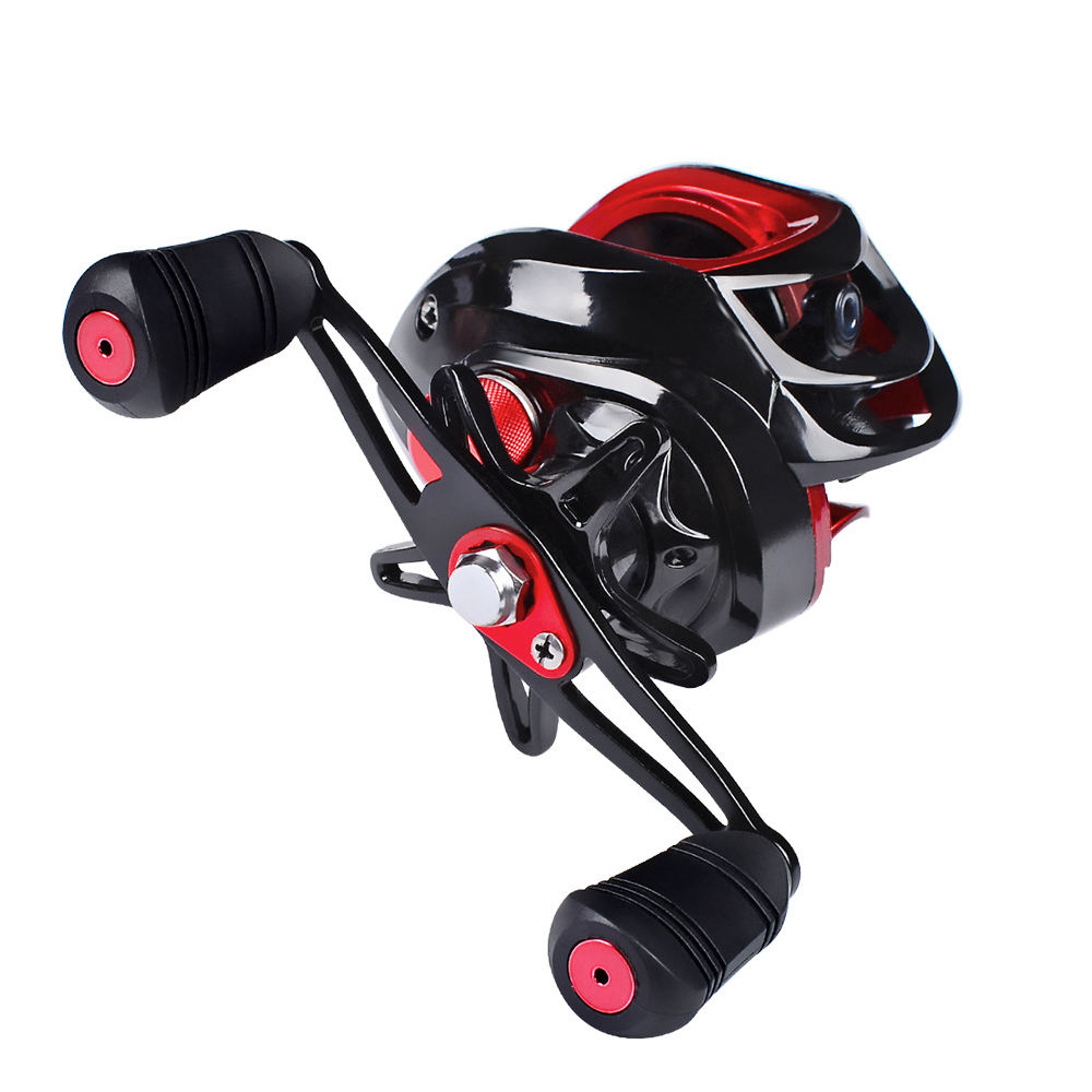 Max Drag 7-10KG Carbon casting Magnetic Metal Casting Baitcasting fishing reel spinning tica fishing reel stainless steel