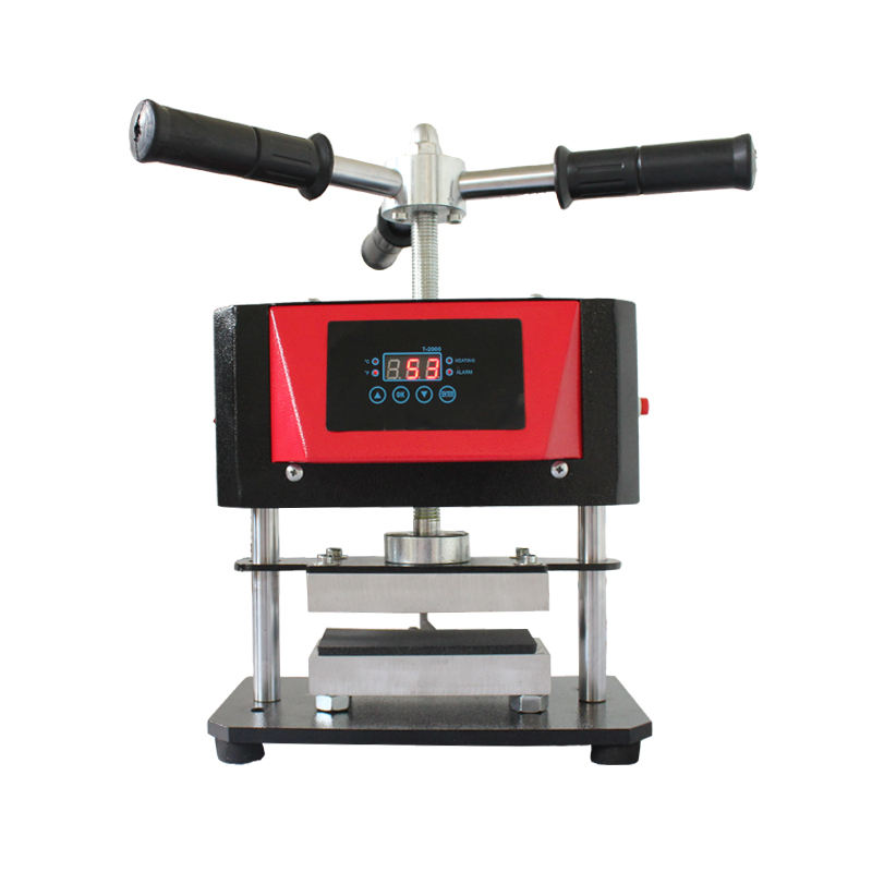 reasonable price dual heated pneumatic oil extraction rosin heat press transfer machine