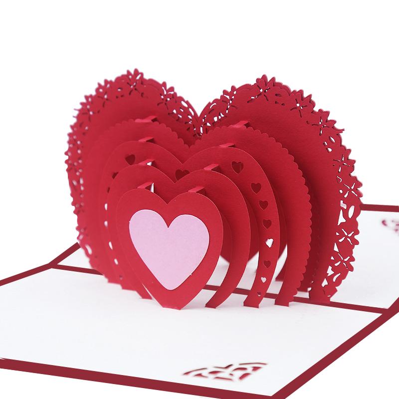 открытка сердце вулкан для продавцов