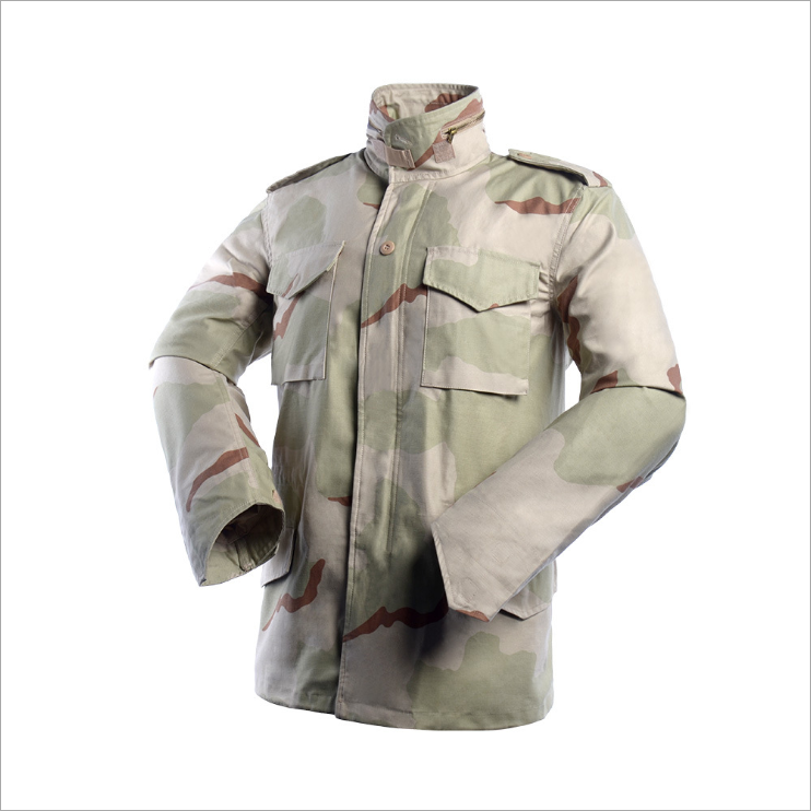 Camouflage Military Winter Vintage Army Jacket M65 Field Jacket Parka M65
