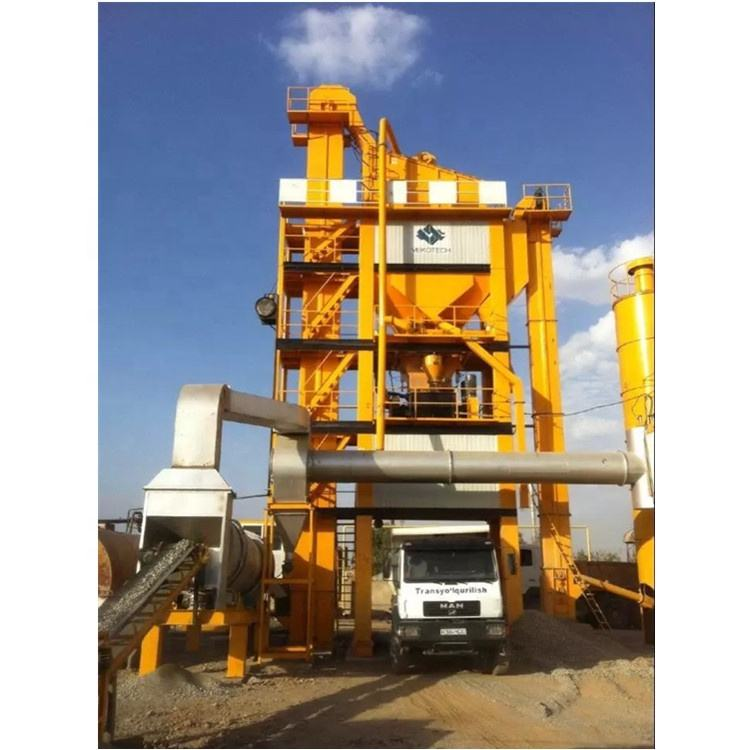 60tph capacity LB700 Asphalt Mixing Plant for road construction