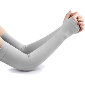 Hot sell summer sun protective Quick Dry Sublimation Compression Ice Silk Arm Sleeves