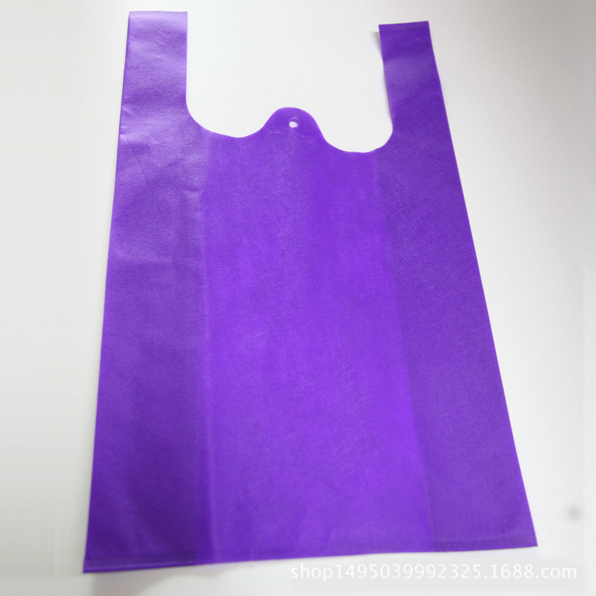 Custom Heavy duty bags eco friendly non woven carrier tote t shirt bags for shopping