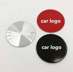 Custom car logo Hub Cap Sticker 56mm 60mm 75mm 65mm More than 400 models Custom logo Aluminum Car Wheel Center Hub Cap Sticker