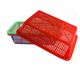 High Quality Food Grade Fruit Vegetable Plastic Basket