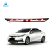 Graphic Customization [ Car Rear ] Custom Car Accessories Black Led Tailgate Strip Rear Door Lid With Light For Corolla 14-17