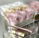 Wholesale Custom Transparent Plastic Case Clear Acrylic Gift flower Display Box With Lid