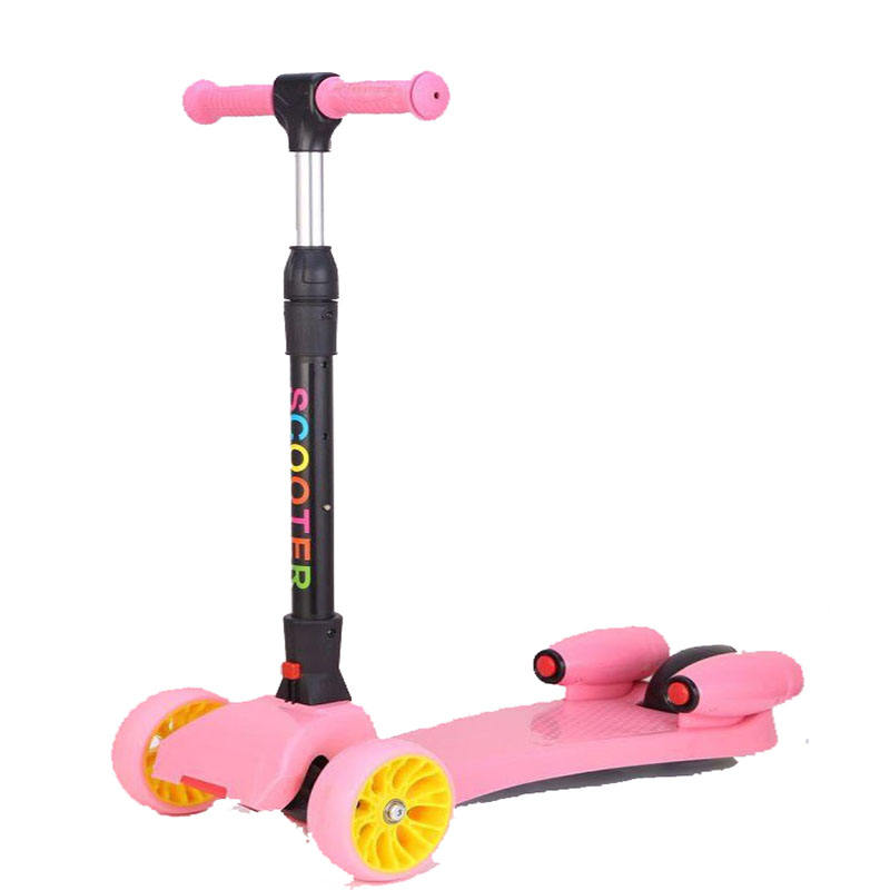 Kick scooter with spray and music foldable scooter