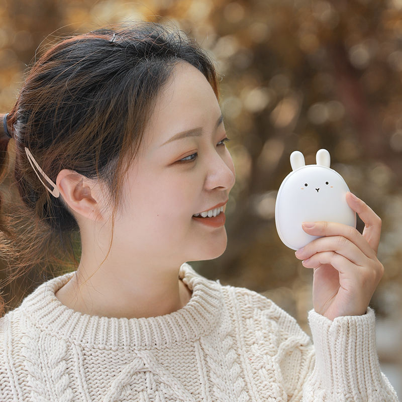 Hot Sale Lovely Cute Pet Winter Gift 4000mAh Power Bank Rechargeable Electric Hand Warmer