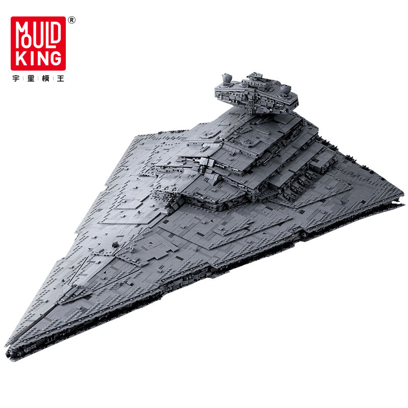 Hot sale Mould king 13135 bricks Imperial Star Destroyer Toys Plastic wars Technic Building Blocks Toy Set for kids