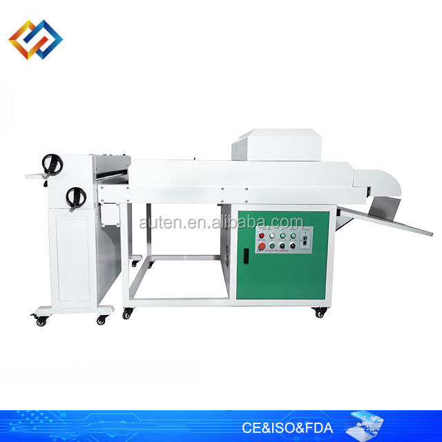 Vernislaag Machine Art Papier Coating Machine Vernis Uv Coater/Uv Pre Coating