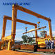 180 Ton Beam Lifting Tyre Crane Rubber Tyred Gantry