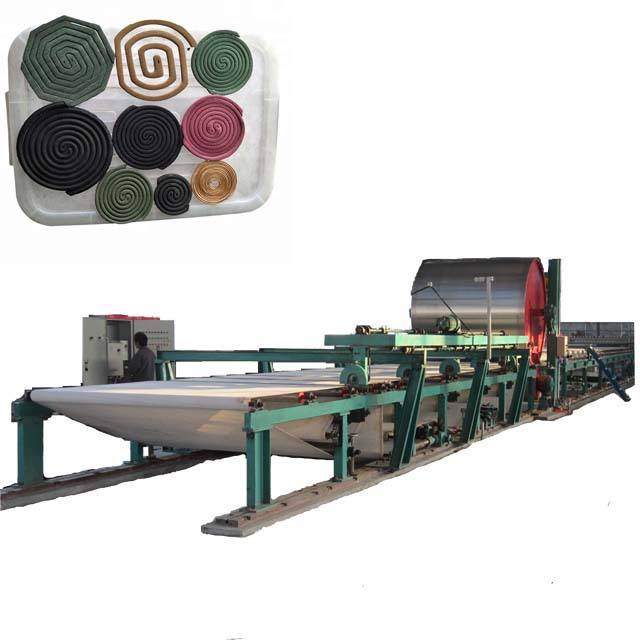 China supplier sell Mosquito repellent incense making machine Mosquito coil paper making machine
