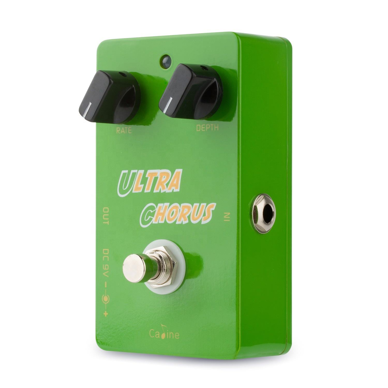 Caline CP-28 Ultra Chorus Green Guitar Effect Pedal Durable and High-quality Guitar Effect