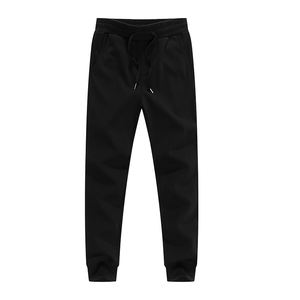 Custom bulk private label embroidered heavyweight basic thick fitness winter blank polyester jogger sweatpants with logo