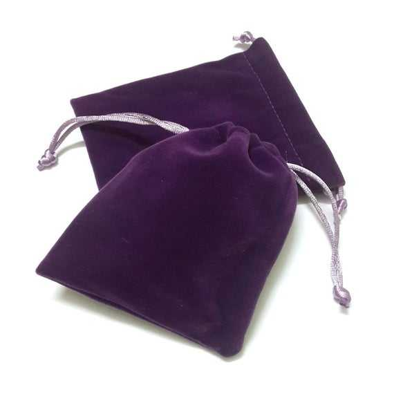 Soft custom size nice workmanship promotion gift bag velvet pouch drawstring for jewerlies storage and packaging