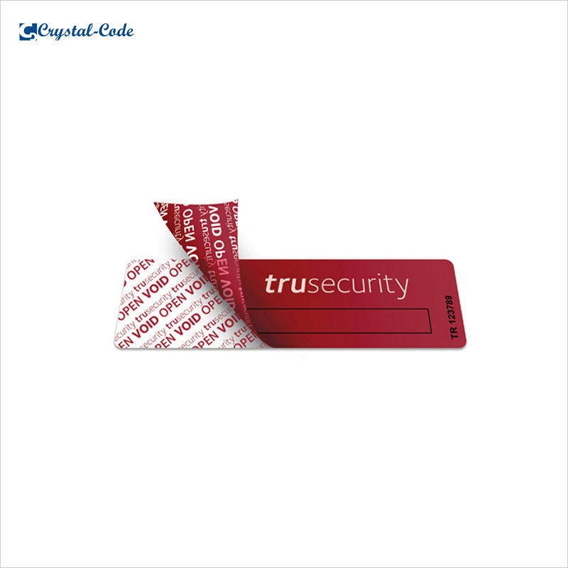 Packaging Customization [ Label ] Tamper Evident Security Tape Void Label Anti-counterfeiting Label