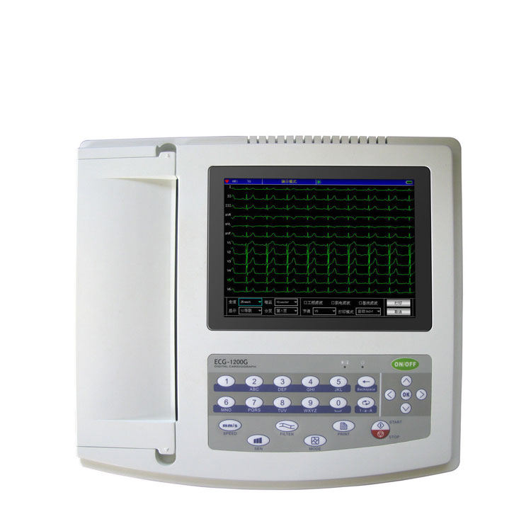 CONTEC ECG1200G echocardiography ecg medical equipment echocardiography machine